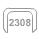 2308 svorky