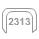 2313 svorky